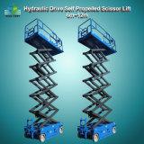 lift van de Schaar van het Platform van de Lift van de Schaar van 8m de 12m Hydraulische Mobiele Elektrische Mini