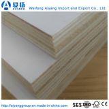 Chapa de madera de álamo de lejía comercial se enfrentan a la madera contrachapada con mejor precio