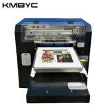 Impresora de la materia textil de la talla de Kmbyc A3 pequeña para la camiseta