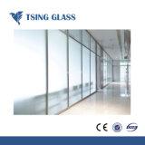 Декоративных конструкций Clear/цветной/Ultra Clear матового стекла кислоты выбиты стекла с маркировкой CE/SGS/сертификат ISO