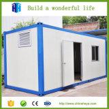 Casa do recipiente da casa de campo e toaletes portáteis de acampamento pré-fabricados