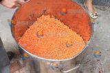 A máquina de corte em cubos vegetal para processar cortou a cenoura, batata, Taro, fruta, cebola, manga, abacaxi, Apple, presunto, Giantarum, Pawpaw