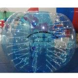 Bola humana de parachoques inflable de la burbuja del patio del parque de atracciones
