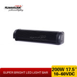 17,5 polegadas 200 W Veja Long Light Roof Light Bar 4X4