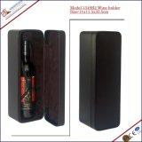 Seule Bouteille de vin en cuir à l'Emballage boîtes cadeaux (1349)