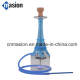 Narguilé réglé de Tour Eiffel de pipe de fumage de Shisha de narguilé acrylique avec l'éclairage LED (AF)