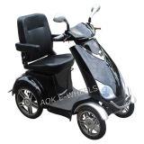 Scooter elétrico com quatro rodas com deficiência, scooter de mobilidade para idosos
