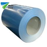 Vorgestrichene Dach-Fliese Stahldes streifen-Farben-überzogene Stahl-PPGI Ral9012