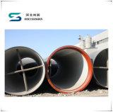 Essai de pression de l'eau buvant les pipes malléables de fer pour les conduites d'eau en acier
