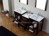 Vanità moderna della stanza da bagno del MDF del doppio dispersore