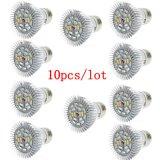完全なスペクトルE27 10W 86red&20blue LEDはライトを育てる