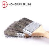 Деревянная щетка краски щетинки ручки (HYW012)