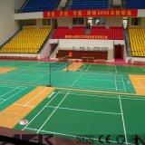 Het goedkope Vloeren van de Sporten van pvc van het Badminton van de Weerstand van het Water van de Absorptie van de Prijs Correcte