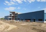 Diseño industrial de los edificios de la vertiente de la estructura de acero