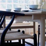 Preiswertes festes Eichen-Holz Wishbone, das Stuhl für Gaststätte speist