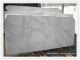 Сляб Calacatta высокого качества Италии белый мраморный для плитки