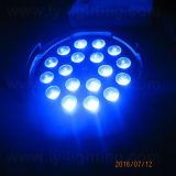 Luz de la IGUALDAD de la etapa 18X10W RGBW 4in1 LED de DMX con el zoom