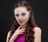 Masker van het Kant van de Maskerade van de Partij van Hallowmas het Dansende Witte