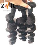 Extensions malaisiennes droites non transformées de cheveux humains de Vierge
