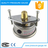 63mmの真鍮の接続が付いているオイルの満たされた圧力計