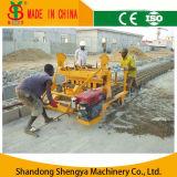 Geen Macht van de Behoefte! Qm4-45 het Beweegbare Concrete Holle Blok die van de Dieselmotor Machine met Wielen maken