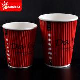 Бумажный стаканчик Wall пульсации для Hot Drink