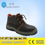 Pattini di sicurezza d'acciaio della punta delle calzature di sicurezza dei pattini di lavoro di PU/PU Outsole