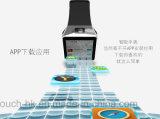3G imprägniern Bluetooth Handgelenk-intelligente Uhr mit Gesundheits-Überwachung Qw09