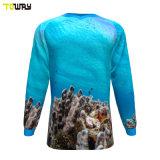 Sport Wear Economici Sublimazione Colorante Personalizzato Pesca Maglie