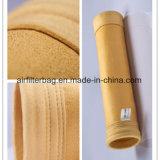 P84 de alta resistencia a la temperatura de 260 bolsas de filtro de mangas de grado