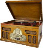 OEM Luxury Box Cabinet Music Player Gramophone Turntable mit USB