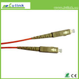 Sinle Mode Sc / FC / LC Optic Fiber Patch Cord / Patch Cable