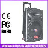 Chariot bon marché rechargeable portatif 6814-16 à haut-parleur de chariot à Feiyang/Temeisheng/Kvg Bluetooth