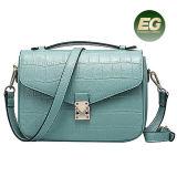 2017 sacchetti reali Emg4911 della signora spalla del migliore venditore dei sacchetti di cuoio della borsa dell'accumulazione della molla del reticolo d'avanguardia del coccodrillo
