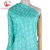 Tessuto all'ingrosso del merletto del cotone del poliestere per il vestito da partito