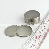 1.25 pouce Strong N52 aimant en néodyme ronde mince avec emballage personnalisé
