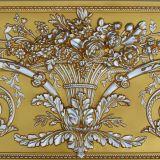 Panneaux de mur de polyuréthane/plaques décoratifs ornementaux Hn-A050