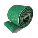 Banda transportadora de PVC/PU para la madera/el aeropuerto/la industria alimentaria/la industria de la materia textil/de la rueda de ardilla