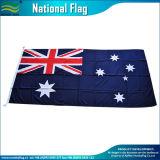 자매 훅 (J-NF05F03125)를 가진 90X180cm 옥외 호주 깃발