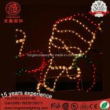 LEIDENE Kabel de Lichte Kerstman met het Licht van Kerstmis van de Ster voor de Decoratie van de Verlichting van de Vakantie