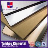 Prix extérieur de panneau de revêtement de plaque composée en aluminium d'Alucoworld
