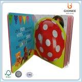 아이를 위한 관례에 의하여 인쇄되는 두꺼운 표지의 책 책