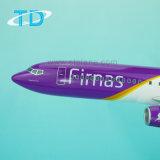 Het ModelVliegtuig van de Hars van de Schaal van het 1:100 van de Luchtroutes B737-800 van Firnas