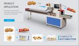 Горизонтальная машина упаковки ткани полотенец плиты тортов