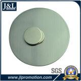Offsetdrucken-rostfreier Eisen-ReversPin mit Magneten auf Rückseite