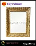 Euopean Ornamento romântico de madeira espelho emoldurado Candlelight