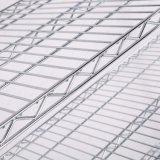 6 уровней 800фунтов магазин Магазин склад для хранения NSF утвердил хром металлический провод полки стеллажа стеллажи