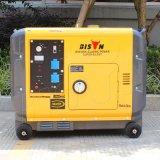 バイソン(中国) BS6500dsea 5kw 5000Wの銅線の長期間の時間極度の無声タイプディーゼル発電機のポータブル