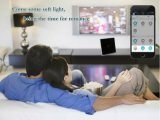 전화 APP 원격 제어 지능적인 가정 생활면의 자동화 벽 스위치 제광기