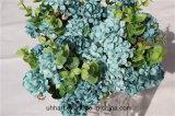 Künstliche Hydrangea-Großhandelsblume für Hochzeits-Dekoration